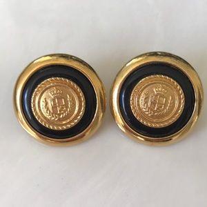 Vintage Liz Claiborne nautical post earrings